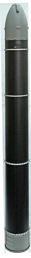 Опубликовано первое изображение перспективной тяжелой баллистической ракеты РС-28 «Сармат»
